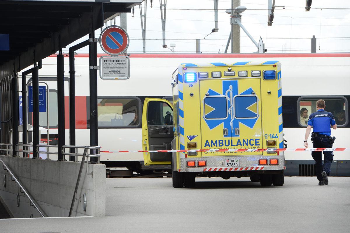 Un accident de personne bloque la gare d'Yverdon