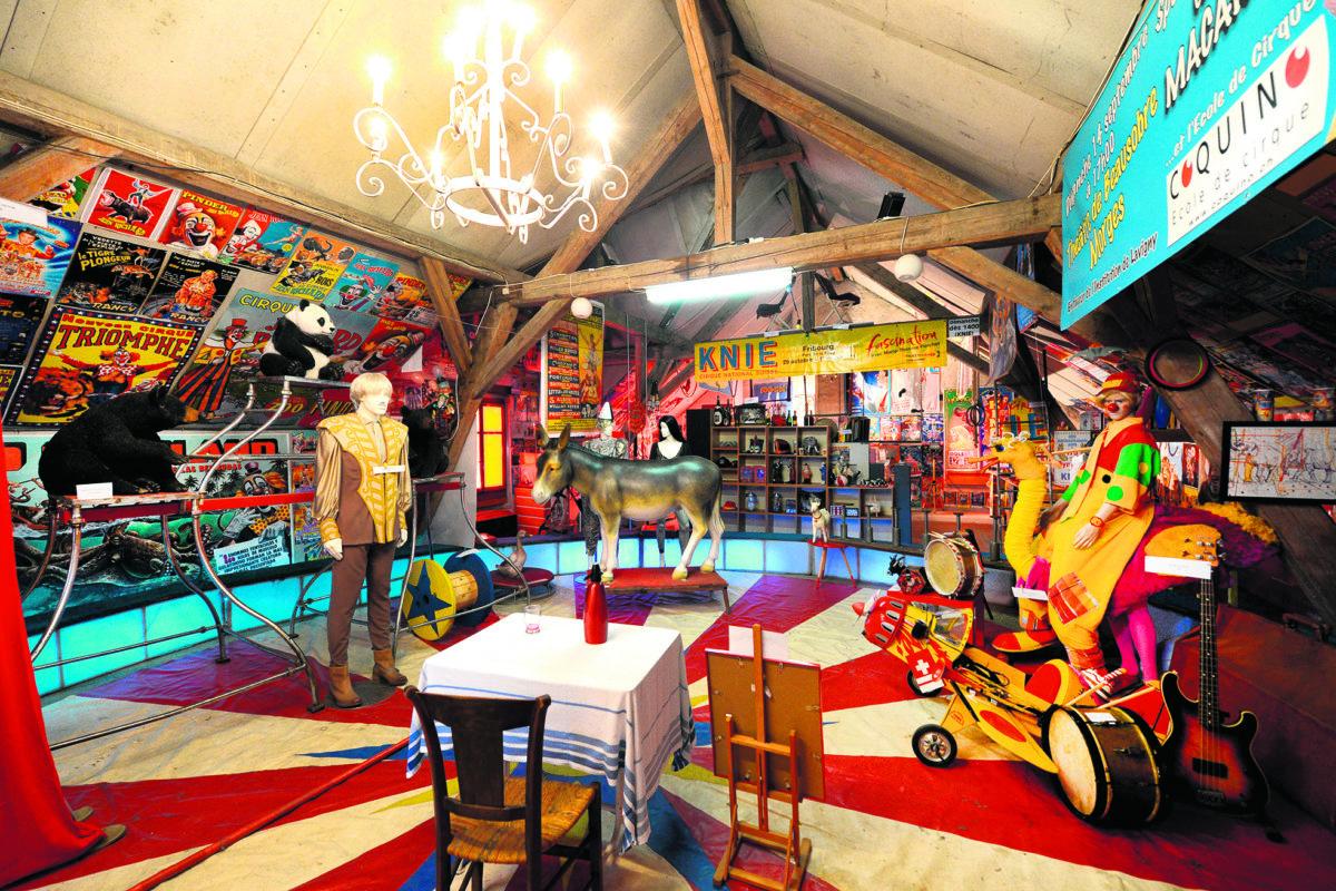 La magie du cirque enchante l'âme du boulanger