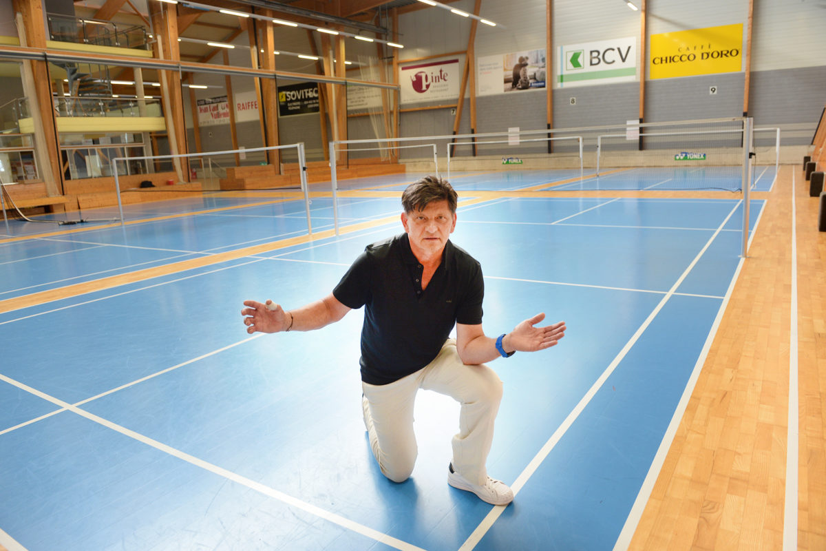 Coup dur pour le Centre de badminton