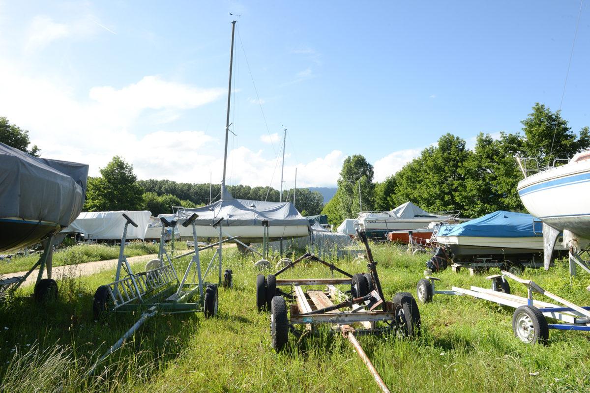 Les bateaux seront réalignés à quai