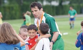Stéphane Lepifre prend soin de la jeunesse du club, qu'il aimerait toutefois plus nombreuse. © Gabriel Lado