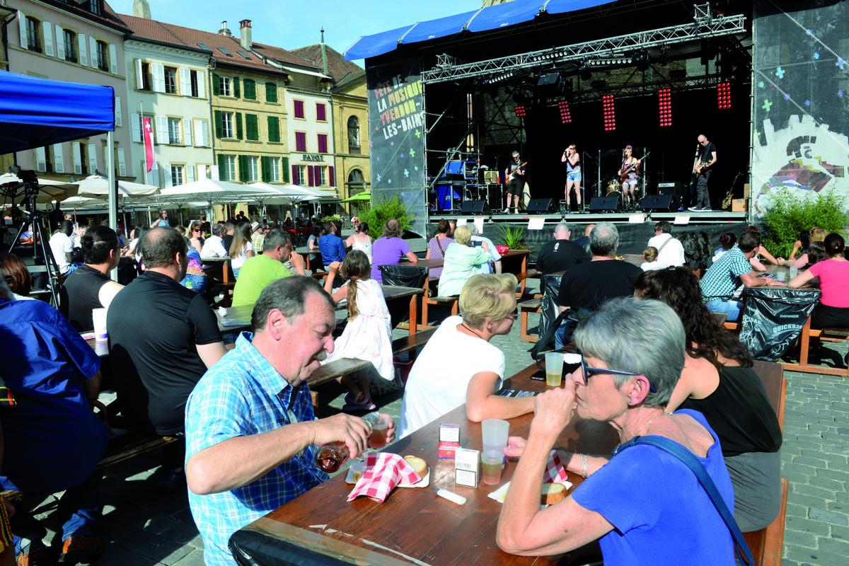 La musique a mis le cœur de nos villes en fête