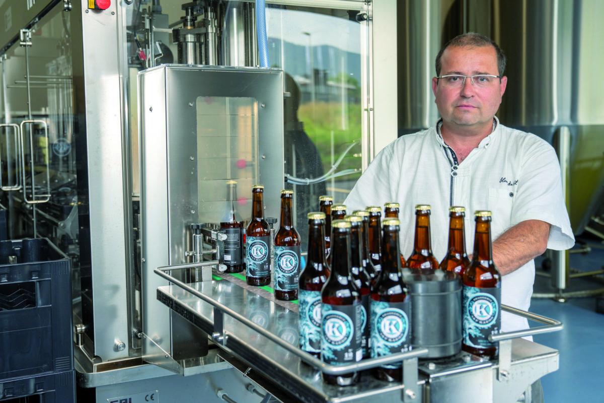 Un ingénieur reconverti dans la bière