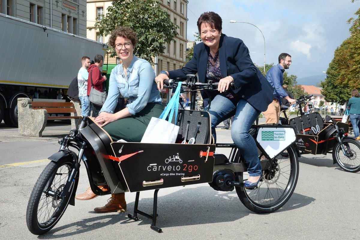 Les vélos-cargos ont séduit la Ville