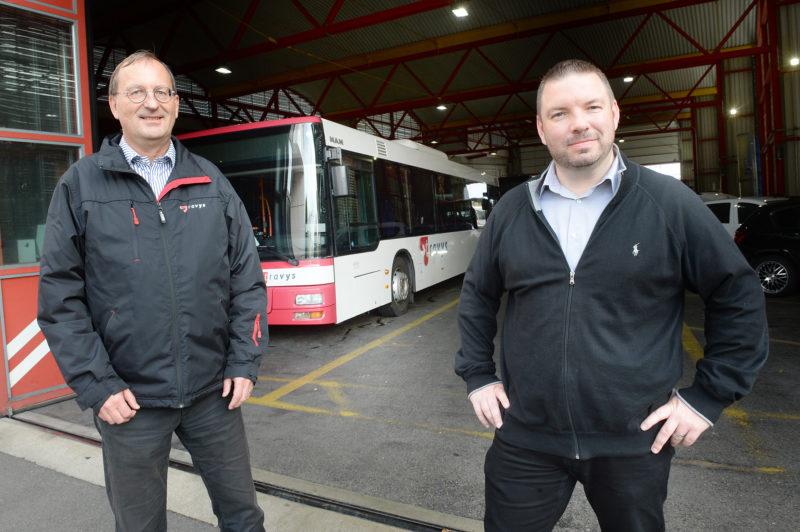Le directeur de Travys, Daniel Reymond, et le chef du Trafic, Raphaël Gerbex, ont décidé de lever le voile sur un problème que peu d'entreprises avouent clairement: le manque de personnel ferroviaire.