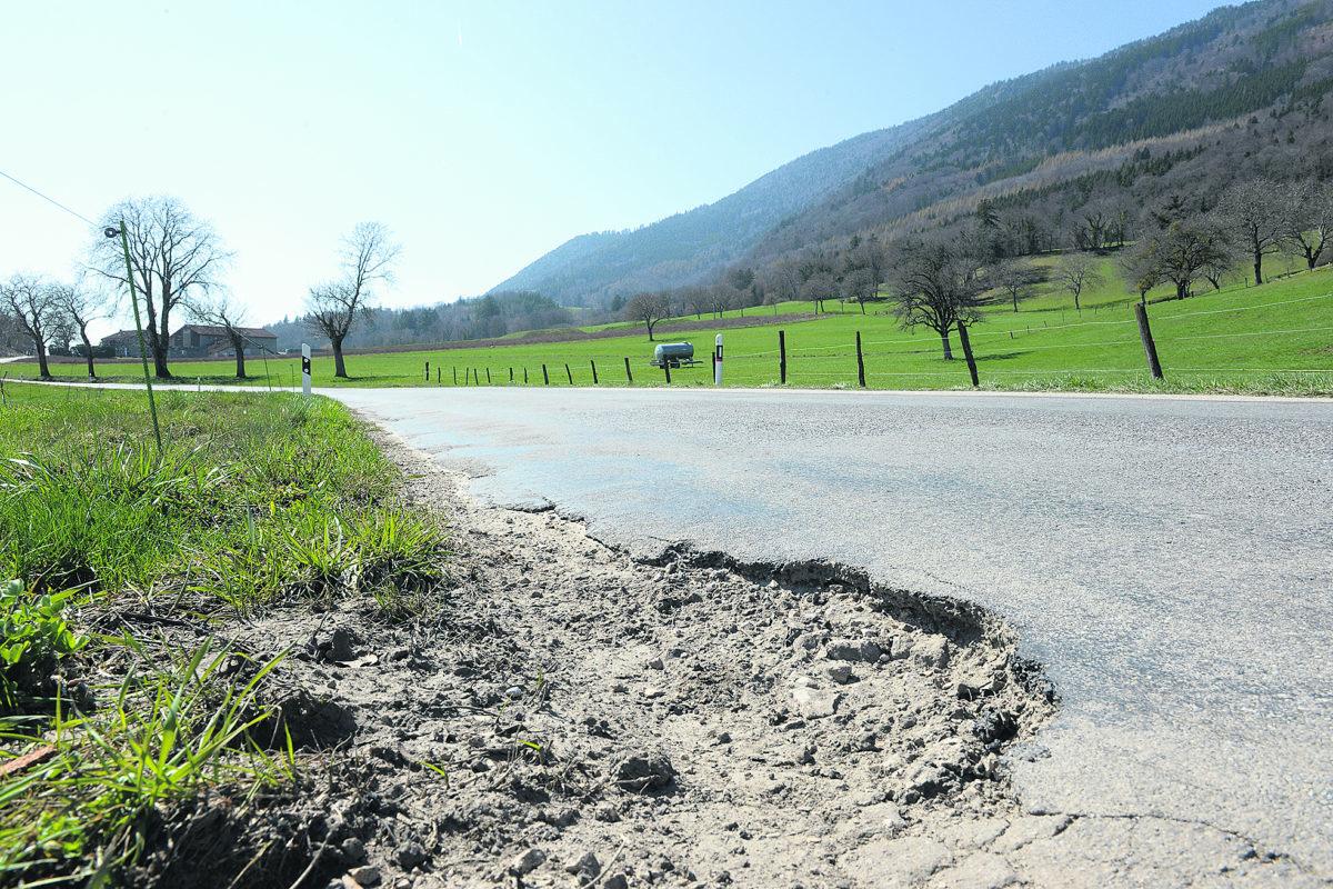 Peau neuve pour «la route des miracles» à Baulmes