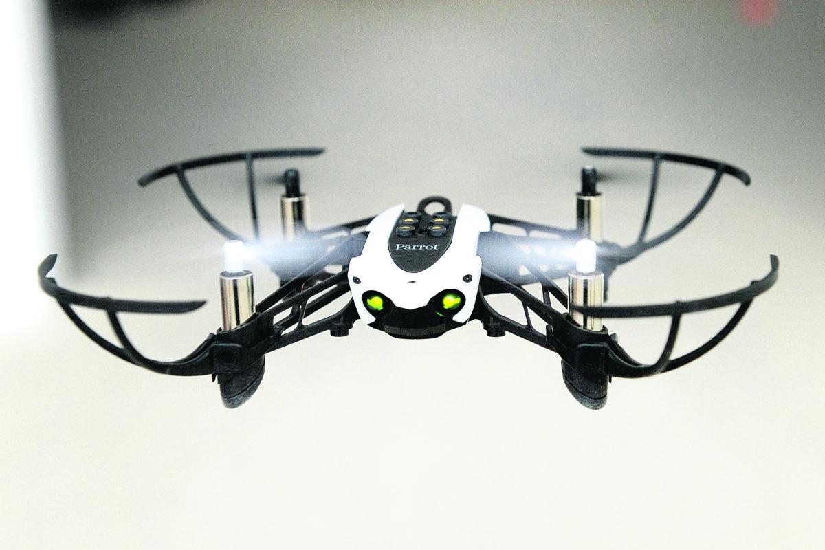 Les drones  ont plané  sur le Conseil communal