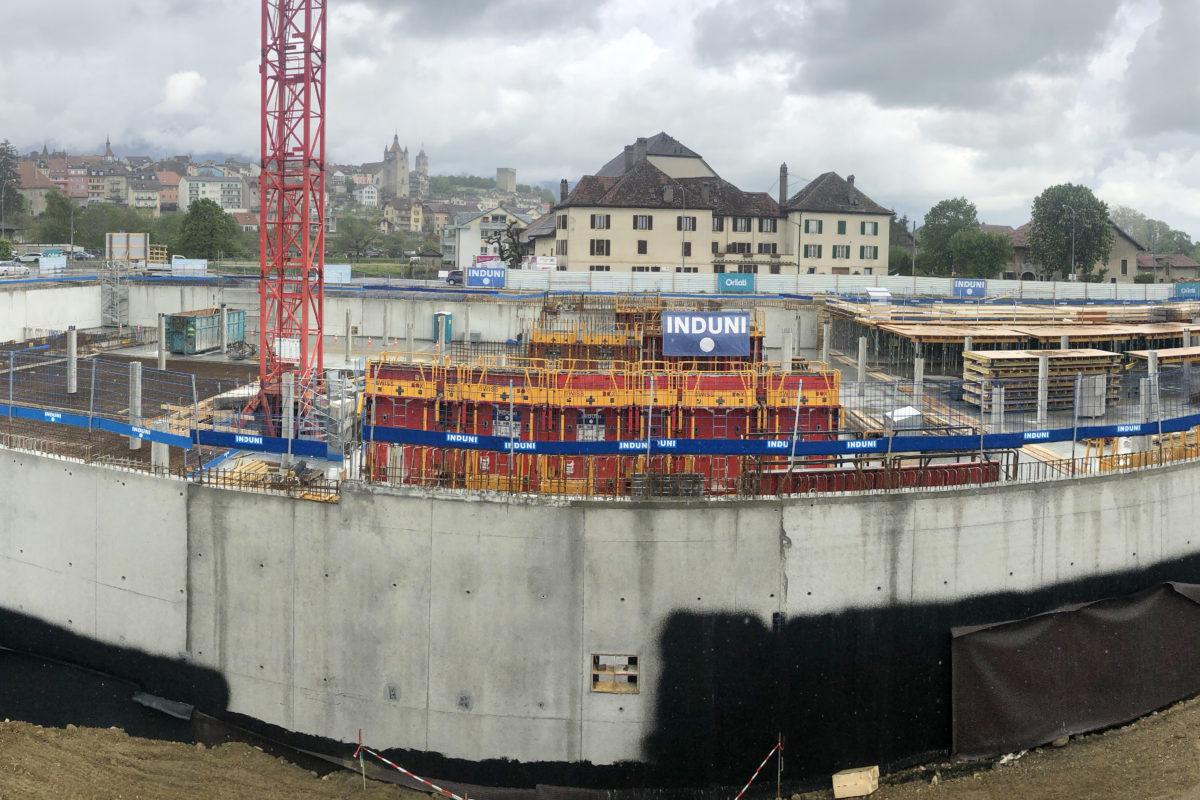 Le chantier suisse d'une innovation