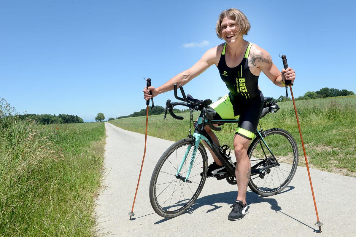 Stéphanie Perriard: d'un extrême à l'autre, de la force à l'endurance