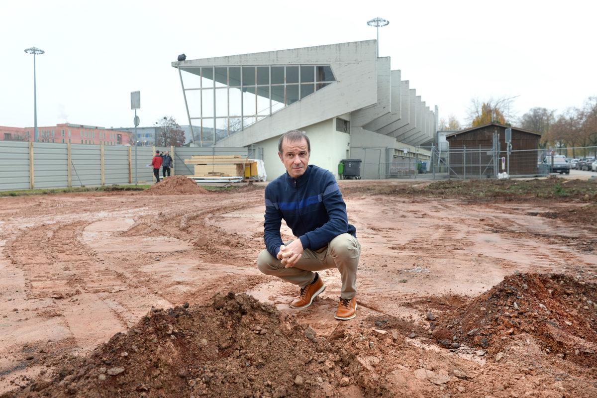 La der du «vieux» stade municipal