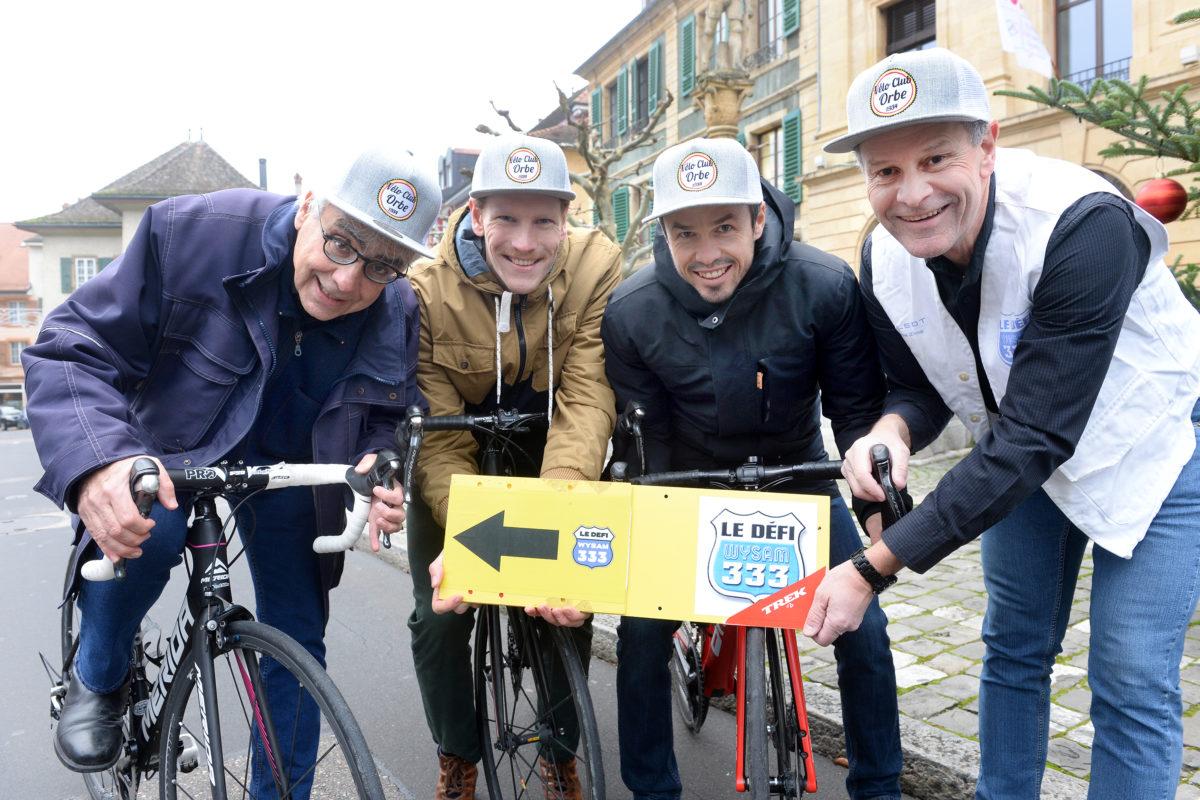 Le Vélo Club Orbe se met au «Défi»