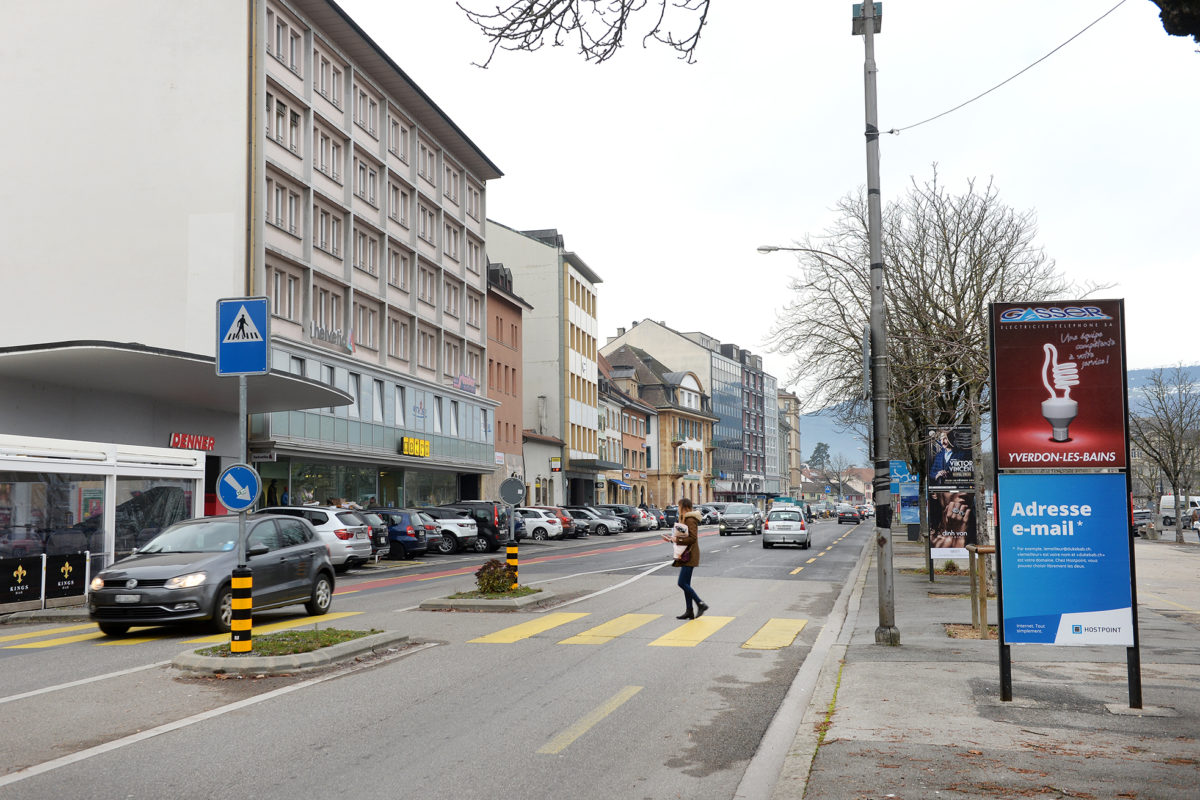 Un centre-ville au ralenti
