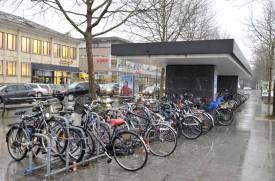 La gare d'Yverdon-les-Bains compte 480 places de stationnement.