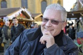 Eric Gentizon a organisé pour la sixième fois le Marché de Noël d'Yverdonles- Bains.