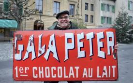 Le chocolat au lait aurait été inventé par Georges-Daniel Peter, qui possédait une usine de chocolat à Orbe. ©Michel Duperrex