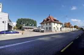 L'extension de la Caserne sera réalisée face à l'actuelle. ©Michel Duperrex