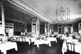 Le salon «Belle Epoque» n'a pratiquement pas changé depuis 1913.