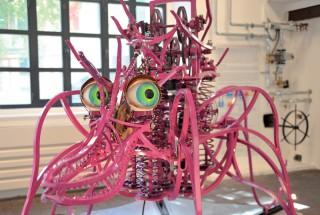 L'araignée «Agläe» donne un bon exemple de la créativité des artistes réunis sous l'égide des Vulcanales. ©Carole Alkabes