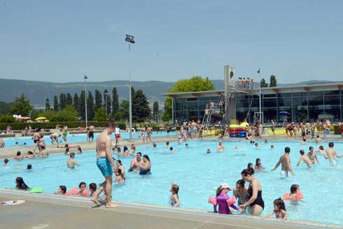 Rupture de stock de glaces la piscine d yverdon les for Piscine yverdon