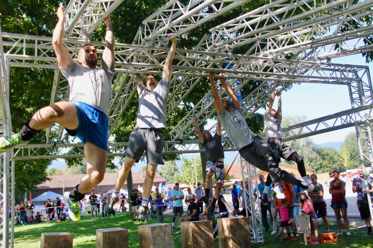 Force athlétique et volonté pour se surpasser