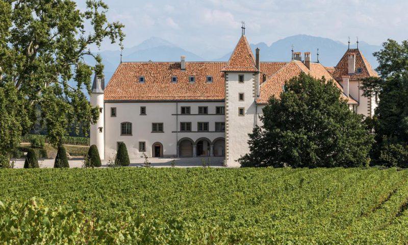 Selon les dires de David Musetti, il ne manque plus que dixmillions defrancs environ à l'édition francophone de Playboy pour acquérir le Château d'Allaman. Il sera rebaptisé «le Château de la paix», si la transaction se concrétise. ©DR