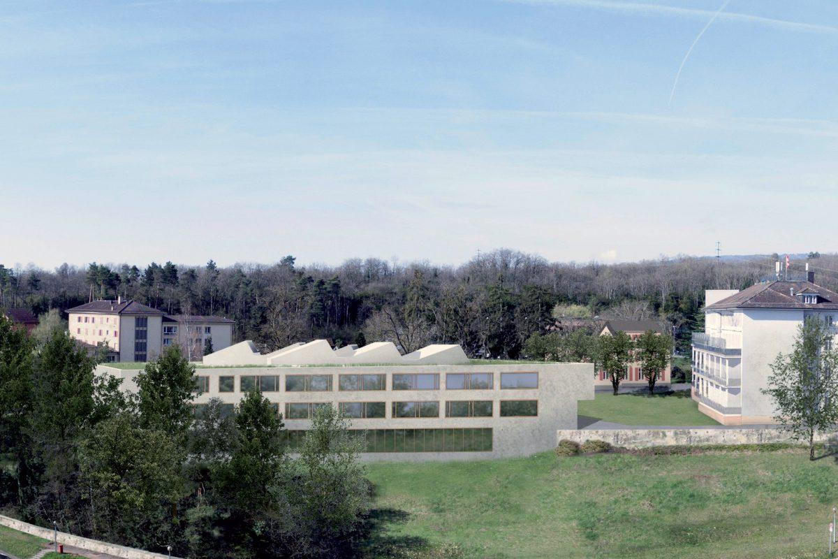 Un site unique pour l'Ecole de soins