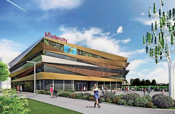 Feu vert pour le centre ludo-éducatif Kindercity