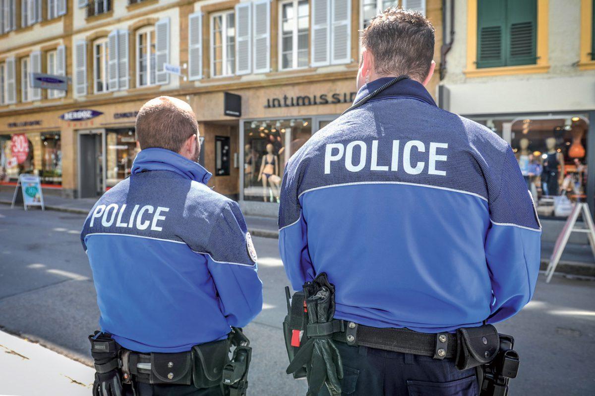 Présence policière accrue au centre