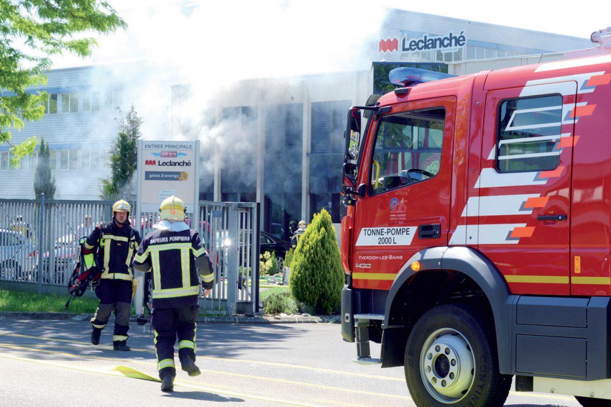 Explosion : treize personnes hospitalisées