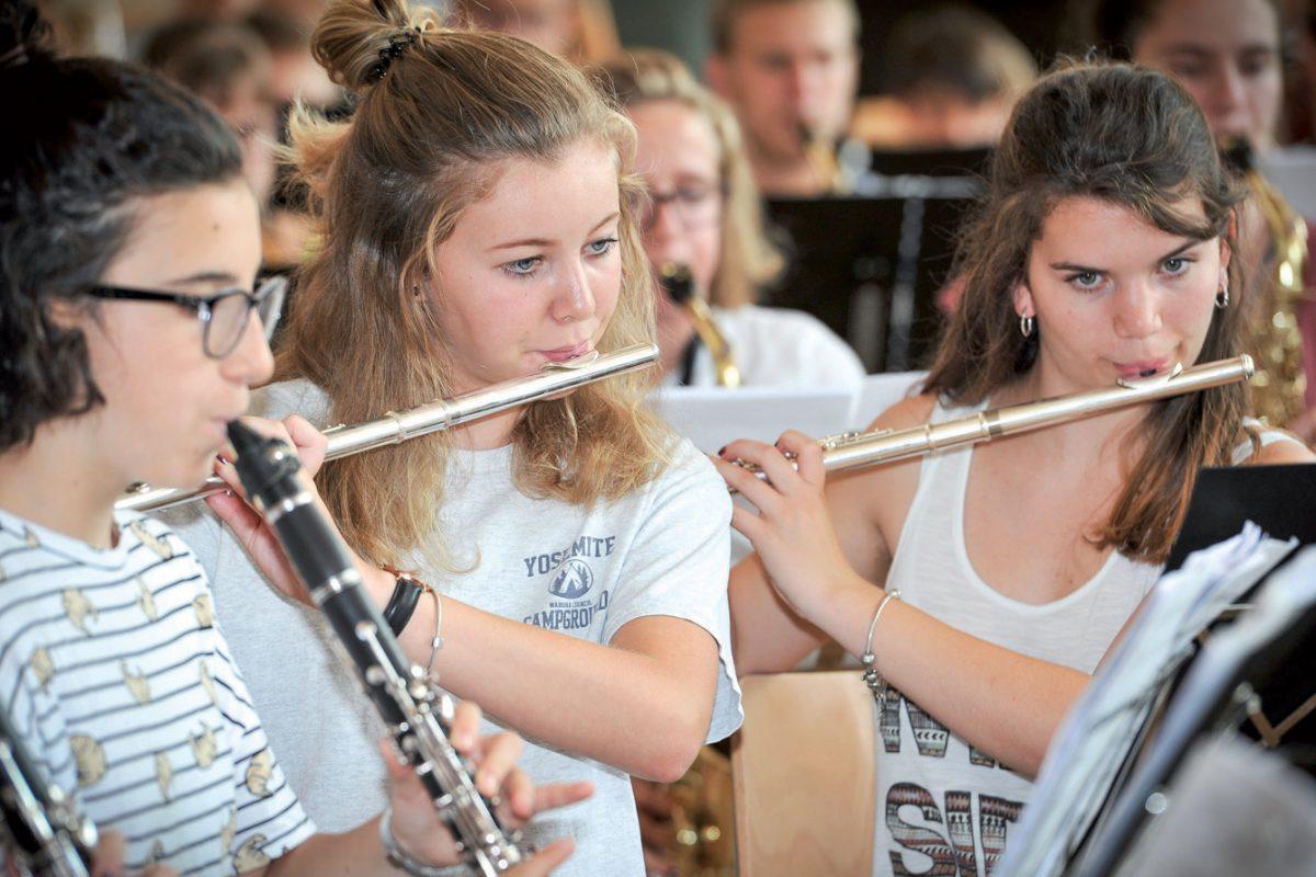107 jeunes réunis autour de la musique