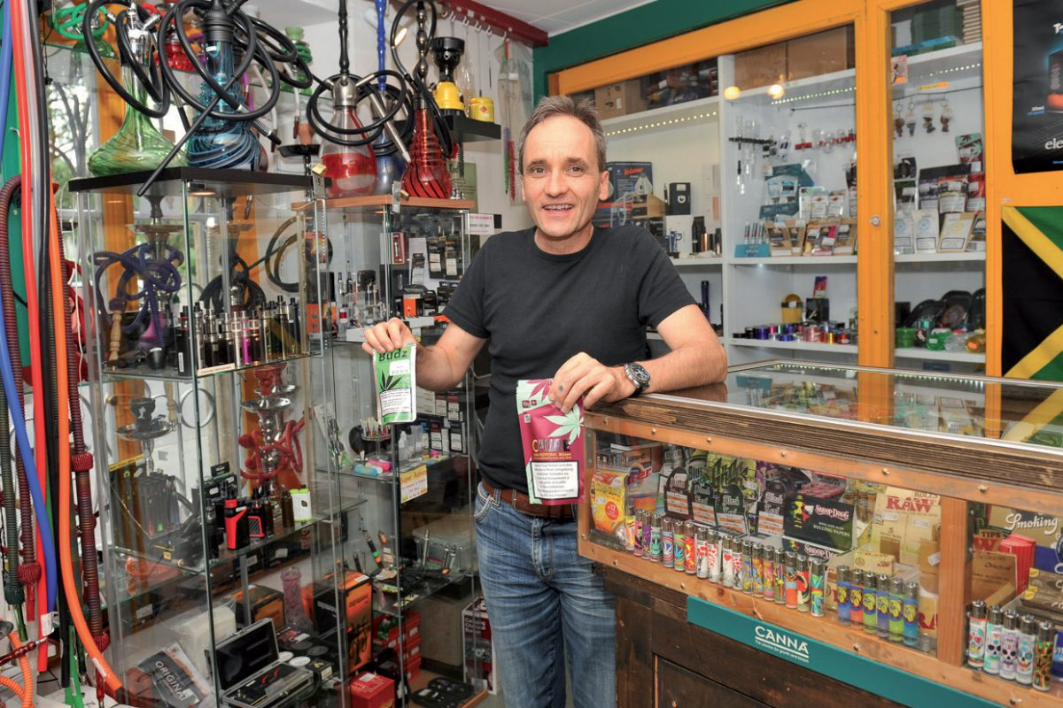 Le cannabis légal en vogue dans les kiosques