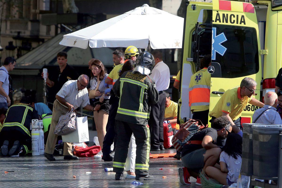 Une Urbigène a vécu la folie de l'attentat meurtrier de Barcelone