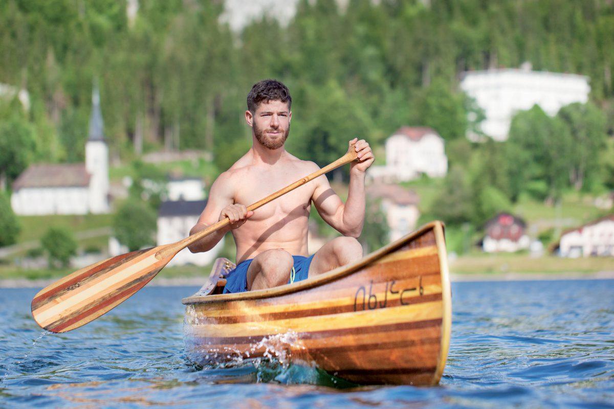 Du lac de Joux à la Norvège, en canoë fabriqué à la main