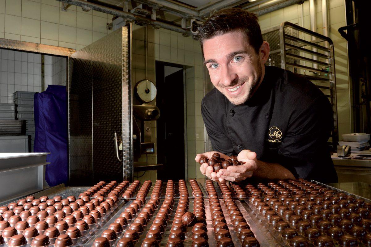 Michaël Randin, le premier chocolatier bio