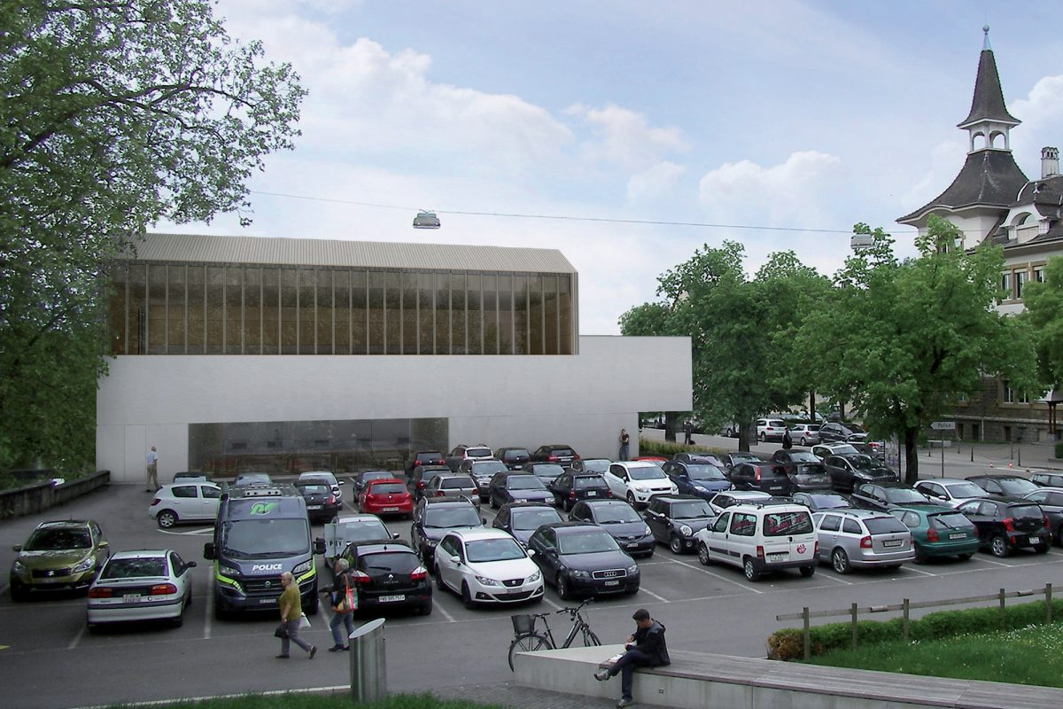 Un palais du sport à la rue Pestalozzi
