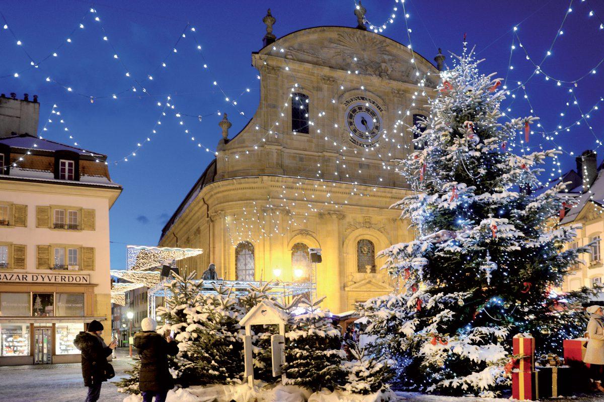L'esprit de Noël de retour au Marché