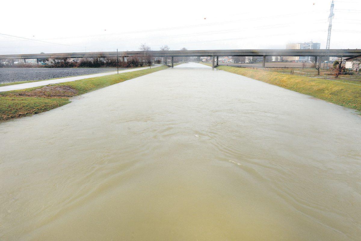 Les rivières en crue après la tempête