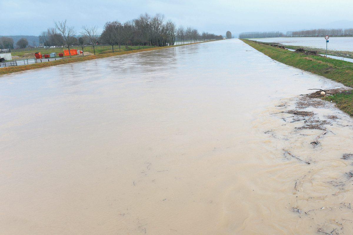 La région a encaissé le déferlement d'un déluge