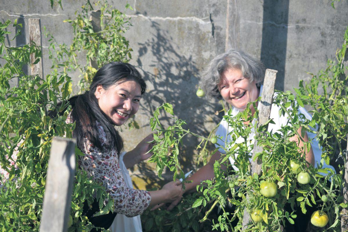 Jardiner en duo sans préjugé