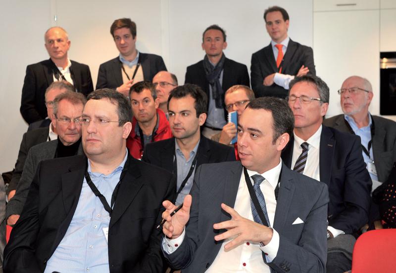 Une délégation de la Wallonie scrute le réseau de santé Nord Broye