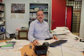 Eric Taillard, président de l'association des professeurs, se fait l'écho du mécontentement de certains membres du corps professoral. ©Ludovic Pillonel