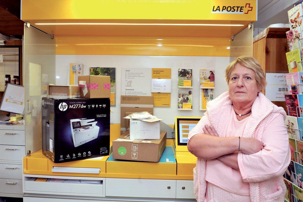 Cauchemar postal dans une épicerie