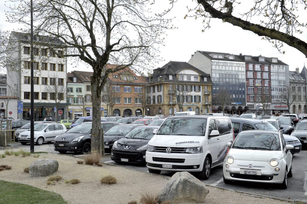 Du concret pour le parking souterrain