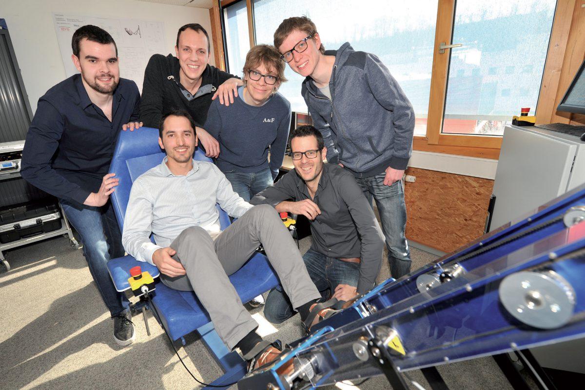 Le robot «Lambda» réhabilite les jambes