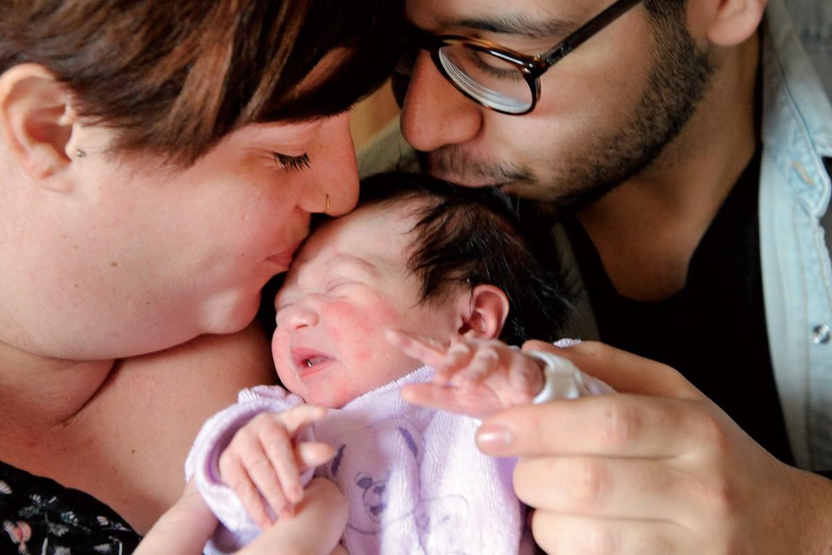 Un premier bébé prénommé Alia