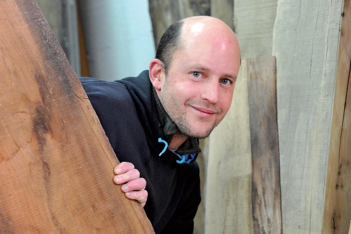 Il a dédié toute sa science à l'art de façonner le bois