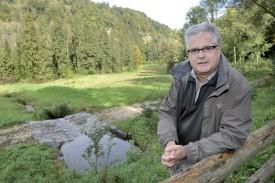 Remis à ciel ouvert, le ruisseau des Billardes, à Donneloye, offre un havre de tranquillité apprécié de la population locale, expliquait l'inspecteur forestier Pierre Cherbuin dans nos colonnes en octobre 2015. ©Duperrex-a