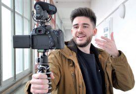 Alexandre Puglisi alimente sa chaîne Youtube, Alexandre Psg, depuis une année et demie. ©Michel Duperrex