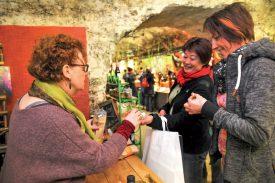Les visiteurs pouvaient, entres autres, déguster du pop-corn. ©Carole Alkabes
