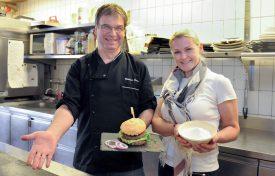 Oui, il est possible de concocter un bon hamburger sans gluten. ©Carole Alkabes